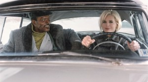 Samuel L. Jackson and Geena Davis in 'The Long Kiss Goodnight'