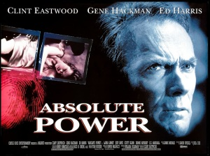 Absolute Power UK quad 30 x 40 poster