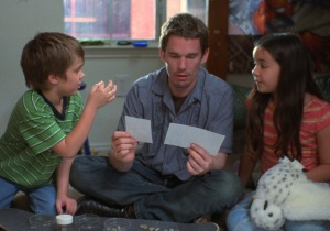 Ethan Hawke (center) in 'Boyhood'