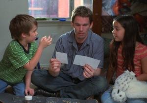 Ethan Hawke (center) in 'Boyhood'