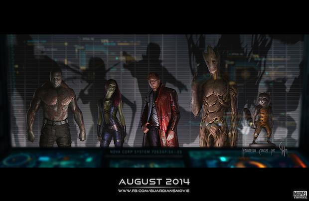 Guardians 2014-list