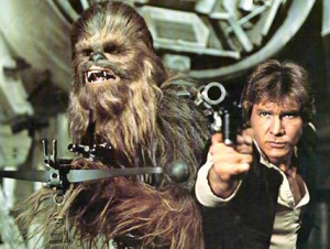 Star Wars Han and Chewie