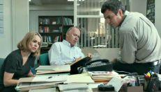 Rachel McAdams, Michael Keaton, and Mark Ruffalo in 'Spotlight'