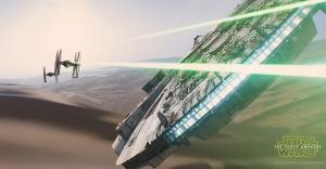force awakens falcon