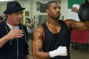 Sylvester Stallone and Michael B. Jordan in 'Creed'