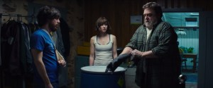 John Gallagher Jr., Mary Elizabeth Winstead and John Goodman in '10 Cloverfield Lane'