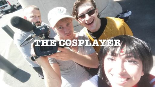 the cosplayer