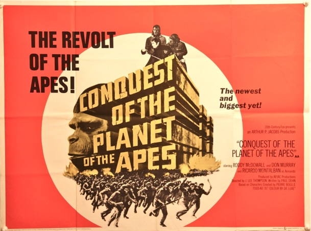 Conquest of the Planet of the Apes Quad