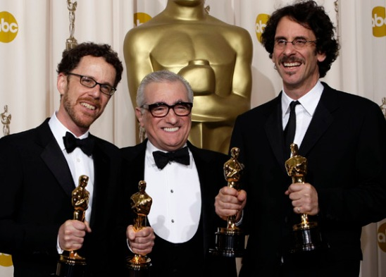 Joel Coen, Ethan Coen, Martin Scorsese