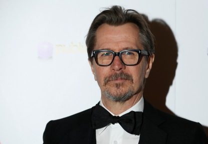 Actor Oldman arrives for the London Critics' Circle Film Awards in London