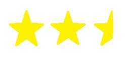 two half stars